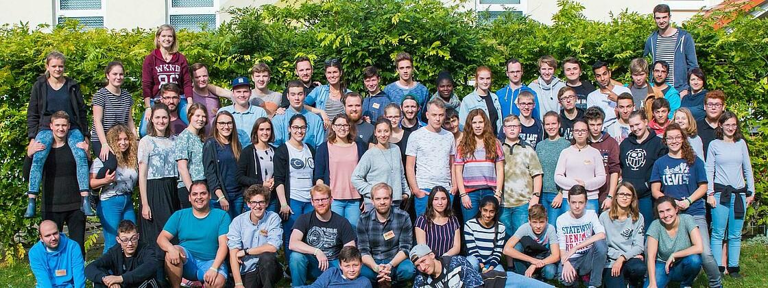 Gruppenfoto Jugendtage 2017